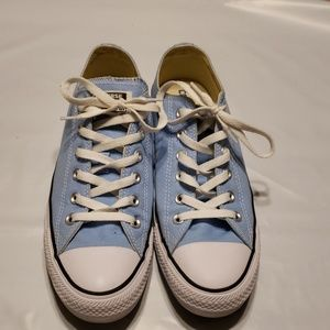 Blue Converse All Stars Womens Sz 10 Mens Sz 8
